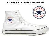 【11/22人気の白黒カラー再入荷!】 コンバース ハイカット オールスター スニーカー CONVERSE ALL STAR HI ホワイト/ブラック