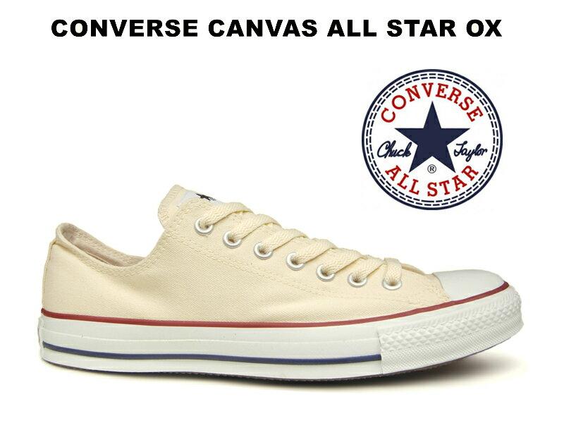 コンバース ローカット オールスター CONVERSE CANVAS ALL STAR OX WHITE ホワイト