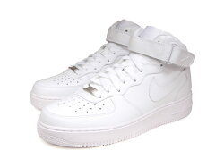 �ʥ������ˡ����������ե�����1�ߥåɥۥ磻��/�ۥ磻��NIKEAIRFORCE1MIDWHITE/WHITE��/���󥺥ϥ����åȥ��ˡ�����