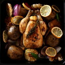 ビストロの定番!柔らかな旨鶏を丸ごと一羽で!雛鳥コクレ!ローストチキン BBQのグリ