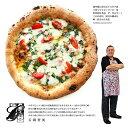 イスキア島の名店ガエターノ舌間氏監修プロヴォラとモッツァレラとトマトのピッツァ ピザ【ピザ】【冷凍のみ】