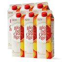 ブラッドオレンジ ジュース ブラオレ 1000ml 6本セット 送料無料