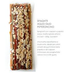 イタリア産アーリオ・オーリオ・ペペロンチーノのスパゲッティ【250g】原材料は全て無添加素材のパスタセット!必要な物は水とオイルのみ!【常温/全温度帯可】