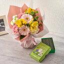 日比谷花壇   ペットのお供え用 供花 そのまま飾れるブーケ「お花に想いを託して」とお線香のセット 供花 バレンタインデー 愛妻の日