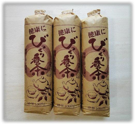送料無料 水出し番茶 (びっくり番茶) 3本セット