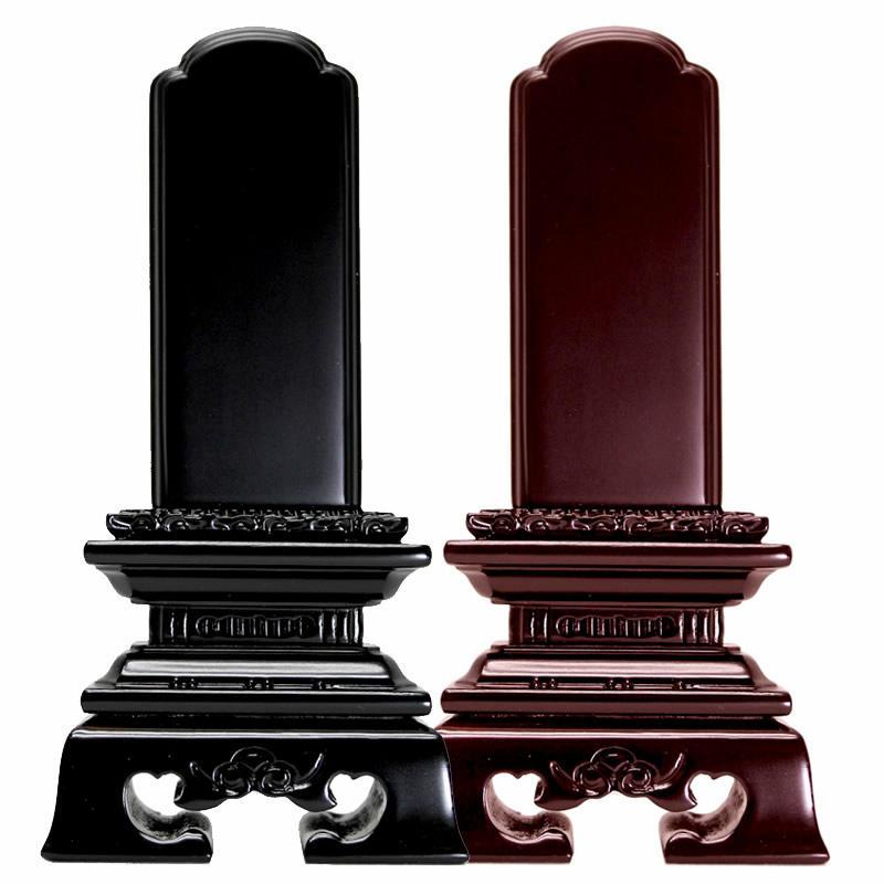 唐木位牌・勝美 3.5寸(高さ:17.5cm)【仏具】【位牌】高デザイン・高品質・低価格の3拍子揃った黒檀・紫檀から選べる勝美型の唐木タイプのお位牌