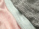 Wool acrylic fancy tweed pastel tone lam (pink, blue, black) made in Japan [for arrival at a cloth 110cm unit] [tomorrow easy correspondence] [HLS_DU] [RCP] [marathon201305_daily]