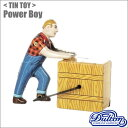 【ダルトン】DULTON ティントイ(MS475 パワーボーイ)Power boy/レトロ ブリキ 男性 トーイ 力持ち メン オモチャ おもちゃ 昔 懐かしい アメリカン雑貨