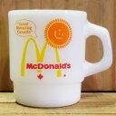【マグカップ】ファイヤーキング Fire-King マクドナルド (グッドモーニング カナダ) ■ Good morning canada McDonalds アンカーホッキング アメリカン雑貨 【あす楽対応】