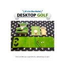 デスクトップ ゴルフ ミニブック付 ■ おもしろ パーティー イベント 卓上 ゲーム 試合 アメリカン雑貨