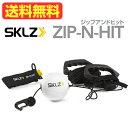 ジップヒット《日本語取扱説明書付》SKLZ(スキルズ)ZIP-N-HIT PRO【あす楽】【送料無料】(沖縄及び離島は除く)