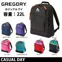 (旧ロゴ) GREGORY グレゴリー カジュアルデイ CASUAL DAY 日本正規品 バックパック デイパック リュック アウトドア /カバン/鞄 メンズ/レディース【デイパック・リュック】
