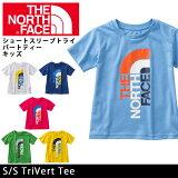 �Ρ����ե����� THE NORTH FACE T����� ���硼�ȥ���֥ȥ饤�С��ȥƥ����ʥ��å��� S/S TriVert Tee NTJ31615 (������б�)��NF-TOPS�ۡ�NF-KID��
