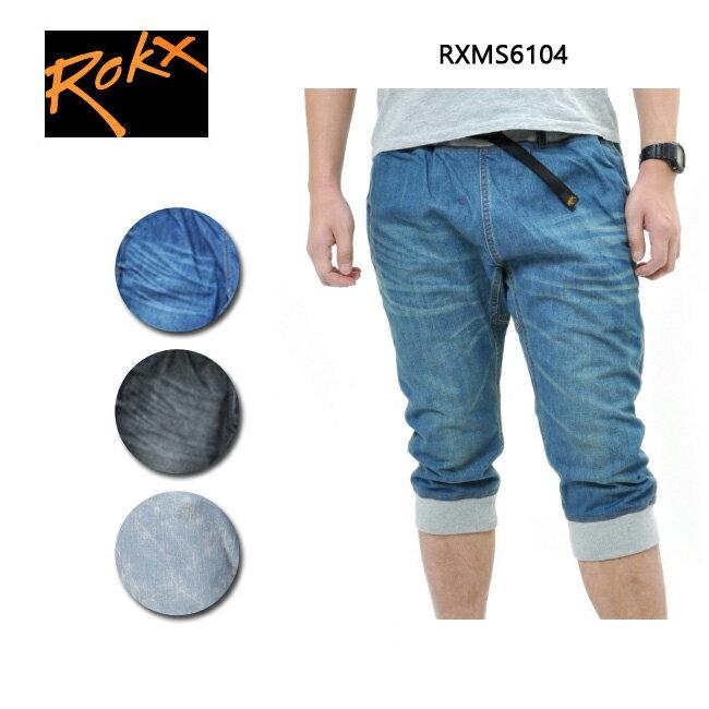 ロックス コットンウッド デニムクロップス RXMS6104