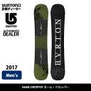 2017 BURTON バートン スノーボード 板 ネームドロッパー NAME DROPPER 【板】 align=
