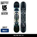 2017 BURTON バートン スノーボード 板 TWC プロ TWC PRO 【板】 align=