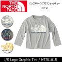 ノースフェイス THE NORTH FACE ロングスリーブロゴグラフィックティー(キッズ) L/S Logo Graphic Tee NTJ81615 【NF...