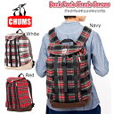 ch60-2084 【CHUMS/チャムス】バックパックチェックキャンバス/Back Pack Check Canvas/CH60-2084