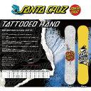 2016 SANTA CRUZ サンタクルーズ スノーボード TATTOOED HAND