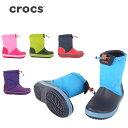 クロックス CROCS Crocband Lodgepoint Boot Kids クロックバンド ロッジポイントブーツ キッズ ジュニア 203509 【靴】...