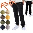 【ROKX/ロックス】 COTTONWOOD ROKX RXMF6201 【服】 ロングパンツ リブパンツ 裾リブ カジュアル アウトドア