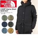 【ノースフェイス/THE NORTH FACE】 コート キャンプシェラショート(メンズ) CAMP Sierra Short ND91637 【NF-TOPS...