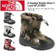 【ノースフェイス/THE NORTH FACE】 ブーティー ヌプシ ブーティー ウール II ラックス(キッズ) K Nuptse Bootie Wool II Luxe NFJ51684 【NF-FOOT】