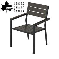 【メーカーお取り寄せ】【代引き不可】ロゴス LOGOS LOGOS Smart Garden モノウッドスタックチェア 73200012 【LG-CHER】の画像
