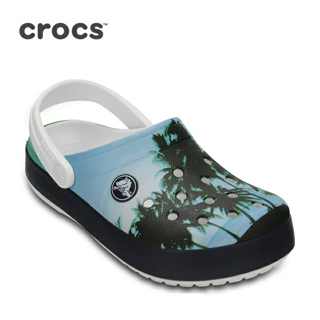 クロックス CROCS サンダル Kids' Crocband Graphic Clog キッズ クロックバンド グラフィック クロッグ 204538 【靴】キッズ ジュニア 子供用 男の子 女の子 crs-072【即日発送】