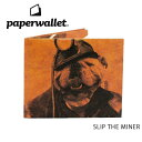 PaperWallet ペーパーウォレット ウォレット Artist Wallet (Slim Wallet)/SLIP THE MINER ART043SMI 【雑貨】財布 タイベック素材 紙の財布【メール便・代引不可】【即日発送】