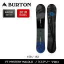 2018 BURTON バートン スノーボード 板 ミステリー マロロ FT MYSTERY MALOLO 【板】 MENS メンズ align=