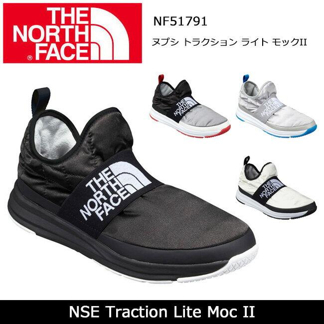 ノースフェイス THE NORTH FACE スニーカー ヌプシ トラクション ライト モックII NSE Traction Lite Moc II NF51791 【NF-FOOT】スリッポン メンズ レディース