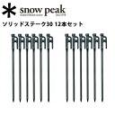 即日発送 【スノーピーク/snow peak】【12本セット...