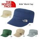 ノースフェイス THE NORTH FACE キャップワークキャップ(キッズ) Kids' Work Cap NNJ01516【NF-HEAD・ACC】【NF-KID】【帽子】