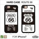 【メール便送料無料】 iPhone7 ハードケース・プレート「ROUTE66」 HIGHCAMP clear hard Case for iPhone7アイフォン7 ハード ケース ポリカーボネート