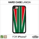 【メール便送料無料】 iPhone7 ハードケース・プレート「LANCIA」 HIGHCAMP clear hard Case for iPhone7アイフォン7 ハード ケース ポリカーボネート