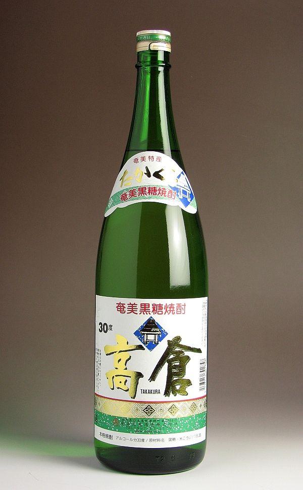 高倉(たかくら)30度1800ml 【奄美大島酒...の商品画像