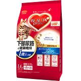 ビューティープロ 毛玉対応 猫下部尿路の健康維持 1歳から フィッシュ味 1.4kg(280g×5袋)