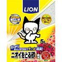 ニオイをとる砂 アニバーサリーローズ 5L【限定商品】【100周年猫】