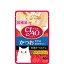 【単品】チャオパウチ かつお ささみ・おかか入り 40g