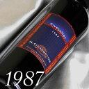 生まれ年[1987]のプレゼントに最適!最速出荷可能赤ワイン+800円で木箱入りラッピング【メッセージカード対応可】