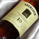 ���٥���10ǯ Aberlour 10 Years Old �����å����������� / ������� / ���ڥ������� Highland Single Malt Scotch W...