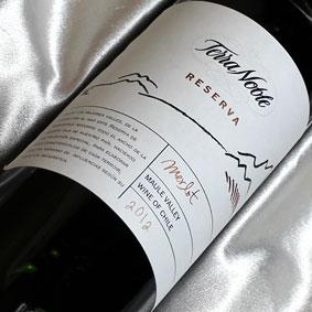[2012]テラ・ノブレメルローレゼルヴァ'12TerraNobleMerlotReserva[2012]チリワイン/マウルバレー/赤ワイン/フルボディ/750ml