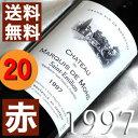 【送料無料】[1997](平成9年)シャトー デュ・マルキ ド・モン [1997] Chateau du Marquis de Mons [1997年]フランス/ボルドー/サンテミリオン/赤ワイン/ミディアムボディ/750ml お誕生日・結婚式・結婚記念日のプレゼントに誕生年・生まれ年のワイン!