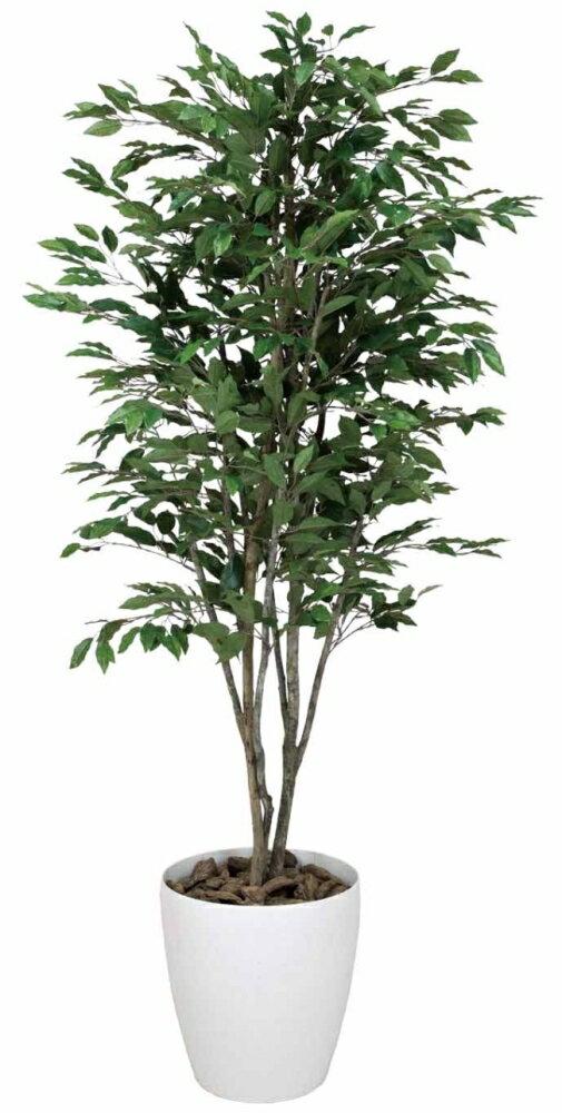 光触媒 光の楽園 ベンジャミンツリー 高さ1.6m【インテリアグリーン 人工観葉植物 大型】 光触媒 人工観葉植物