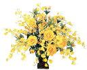 【送料無料】光触媒 光の楽園ゴールドエース 【アートフラワー 造花 観葉植物】