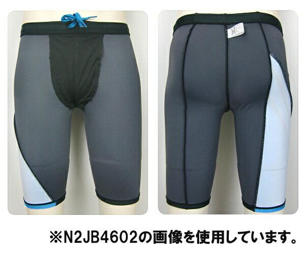 【N2JB4602】MIZUNO(ミズノ)メンズフィットネス水着N-XTハーフスパッツ(ロング丈)