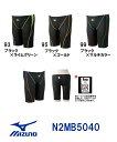 ●●【N2MB5040】【紙箱なし】MIZUNO(ミズノ) メンズ競泳用水着 サニースイム ハーフスパッツ