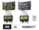 ●●【50%OFF!!】【N2MB6077】MIZUNO(ミズノ) メンズ競泳練習水着 EXER SUITS U-Fit ショートスパッツ【Star Wars】...