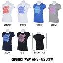 ●●【ARS-6233W】ARENA(アリーナ) エステルドライニット レディス Tシャツ[アパレル/女性用/トレーニングウェア]